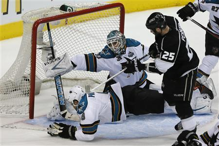 Kings Shock Sharks With Late Goals To Claim 2-0 Series Lead