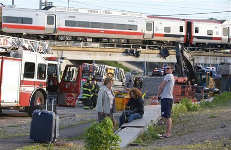 Dozens Injured When Metro-North Trains Crash In Connecticut