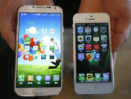 Samsung have beaten out apple