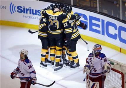 Rangers Looking To Get Even With Bruins