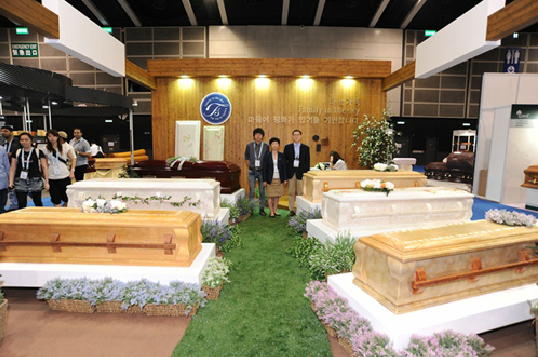 Casket Display, Hong Kong Funeral Expo