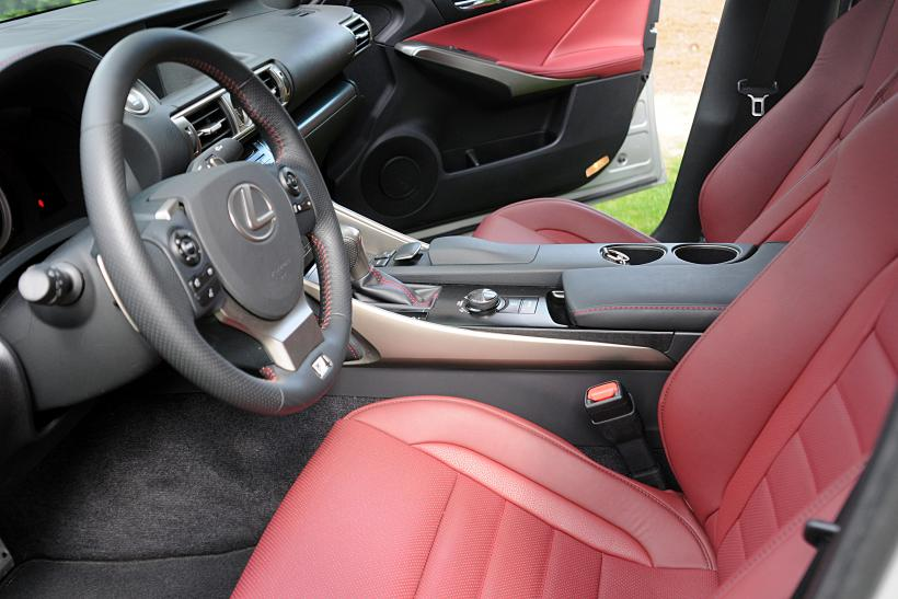 2014 Lexus IS Interior