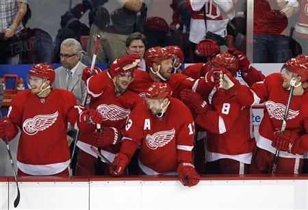 Red Wings Push Blackhawks To Brink Of Elimination In Game 4