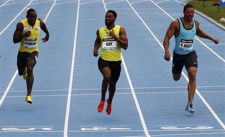 Tyson Gay Wins Diamond League Sprint In New York