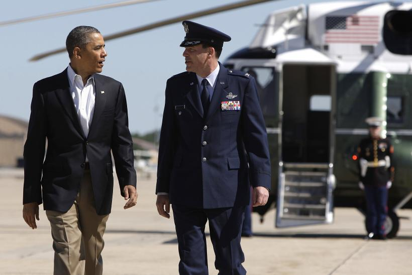 U.S. President Barack Obama-En Route To Oklahoma-May 26, 2013