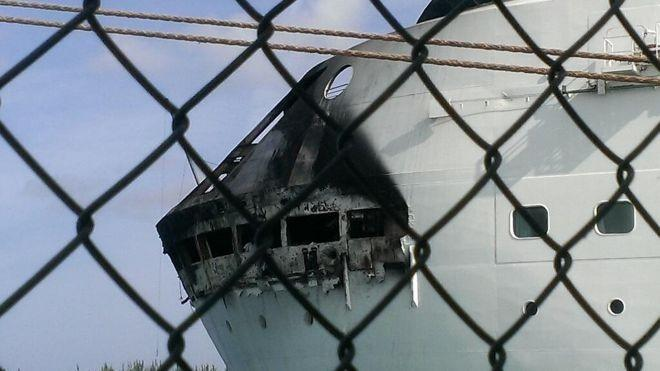 Royal Caribbean Fire 2013