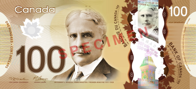 Do New Canadian $100 Bills Have A Maple Syrup Scent?