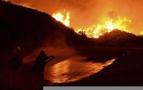 Southern California Wildfire 40% Contained