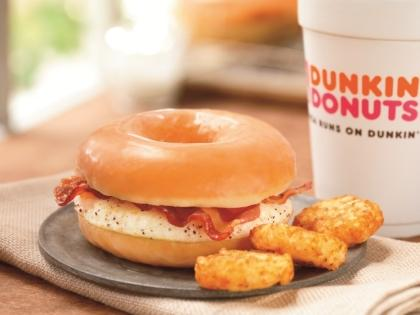 Dunkin' Donuts Introduces Doughnut Breakfast Sandwich