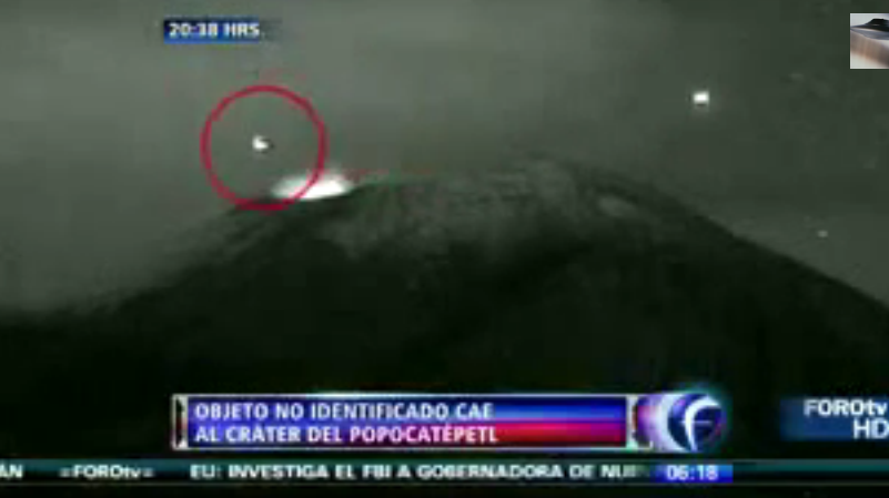 UFO Sighting In Mexico