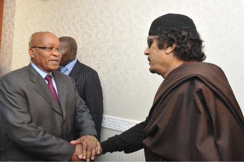 Zuma and the Colonel