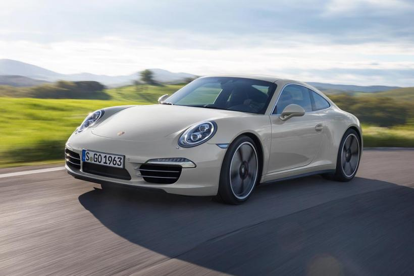 Porsche 911 50th Anniversary Edition Fro