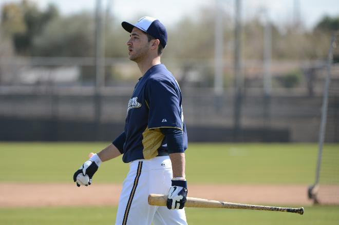 Ryan Braun Milwaukee Brewers
