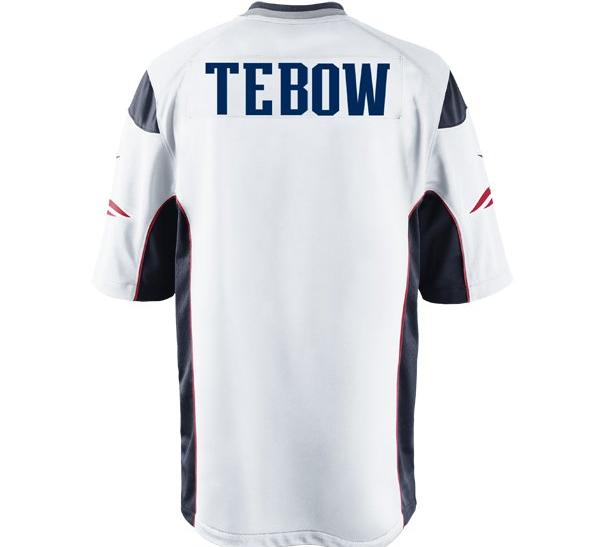 Tim Tebow Patriots Jersey