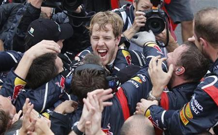 Vettel Staying With Red Bull To End Of 2015