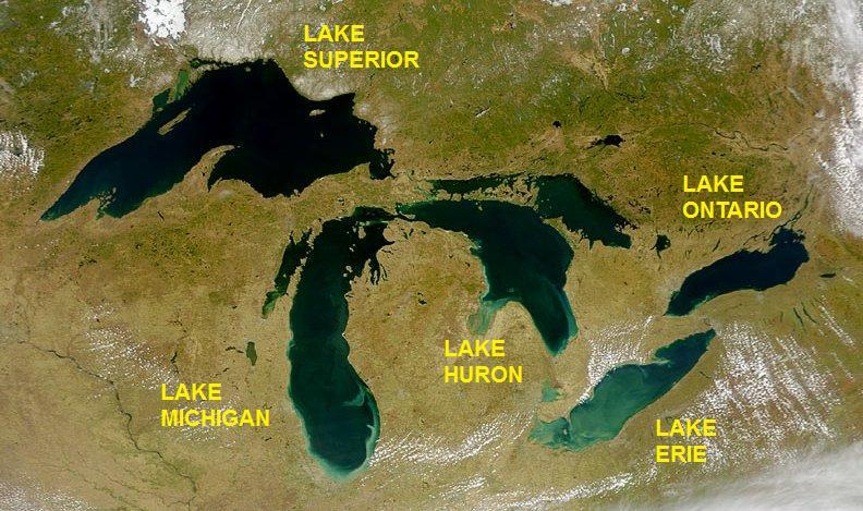 Great Lakes WikiCommons