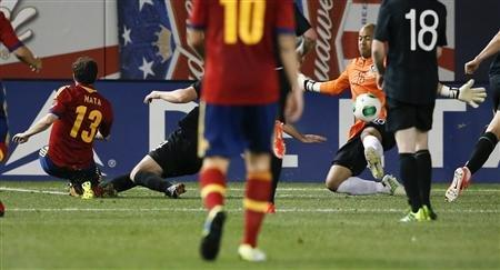 Soldado, Mata Score In Spain's Victory Over Ireland