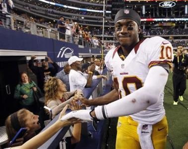 No 'Friction' With Coach Over Injury Timetable, RG3 Says