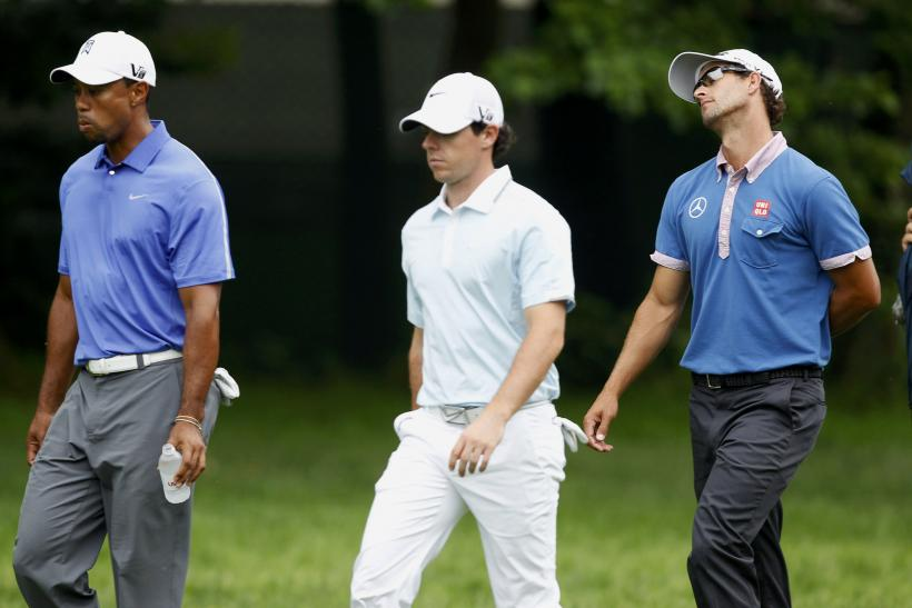 Tiger Woods Rory McIlroy Adam Scott US Open 2013