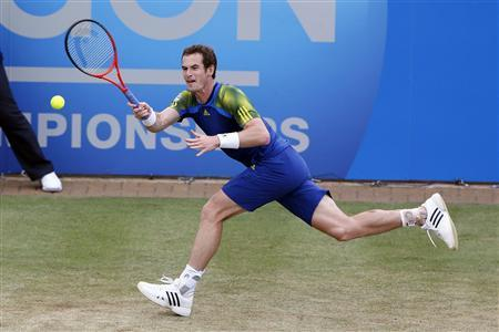 Andy Murray Back On Track In London