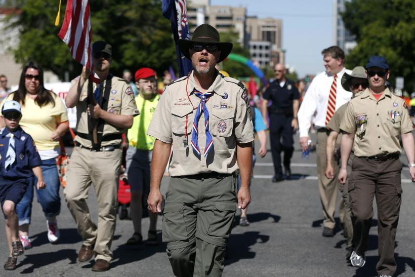 Boys Scouts-Gay Pride Parade-Salt Lake City-June 2, 2013