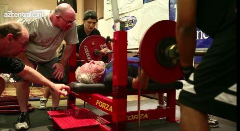 91-Year-Old Sets Bench-Press Record [VIDEO]