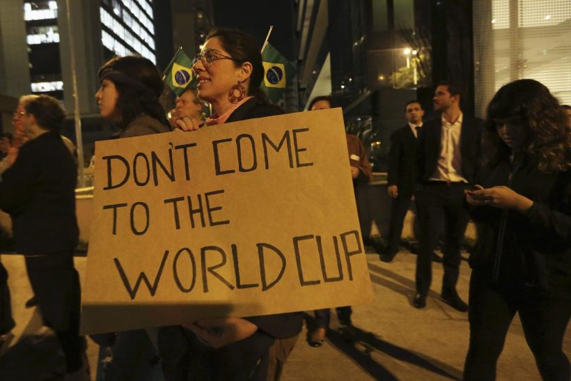 Brazil Protests World Cup