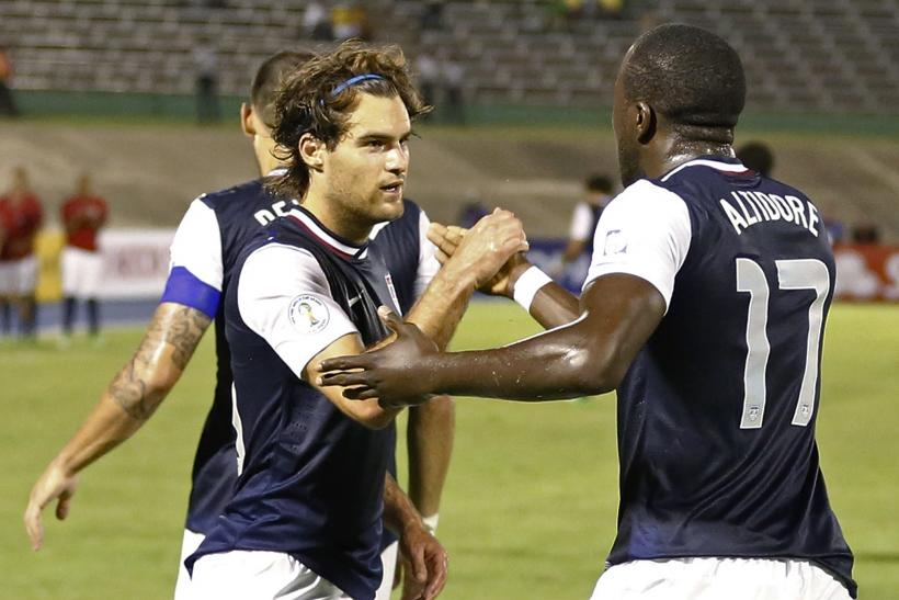 Graham Zusi and Jozy Altidore