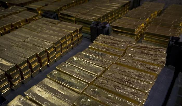 Gold Bars Getty