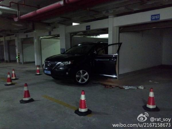 China Gruesome Parking Accident