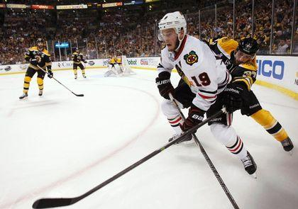 Bergeron, Toews Injured Going Into Game Six