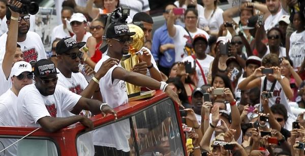 Miami Heat Parade