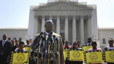 US Supreme Court Strikes Down Key Section Of Voting Rights Act