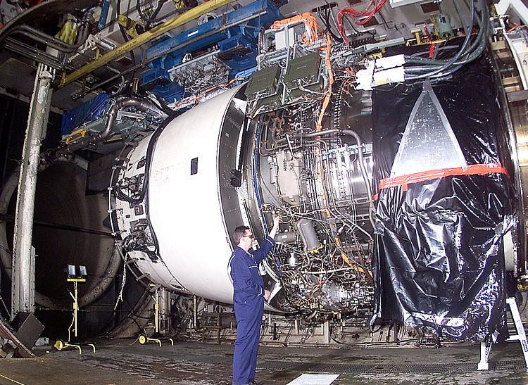 Rolls Royce Trent 900 engine used on the Airbus A380