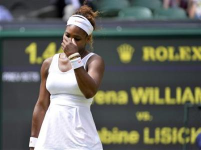 Defeat By Lisicki No Shock Says Ousted Champion Serena