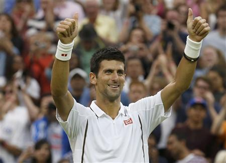 Djokovic Imperious, Courageous Del Potro Powers On