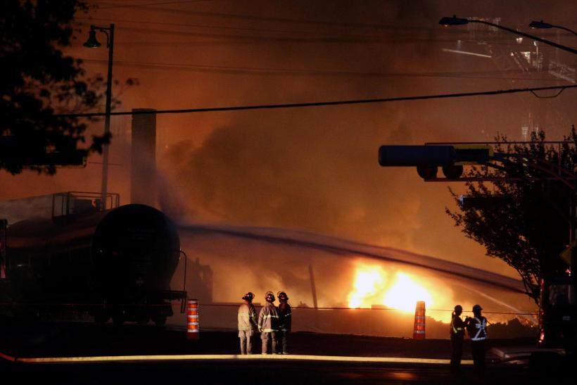 Lac-Megantic Train Wreck-July 6, 2013