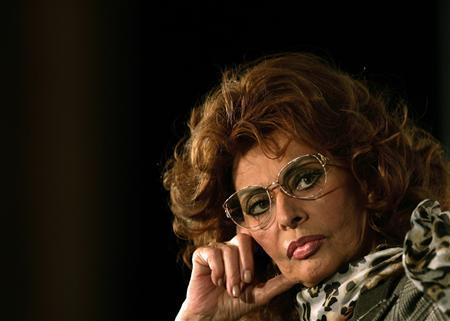 Film Star Sophia Loren Launches Movie-Acting Comeback