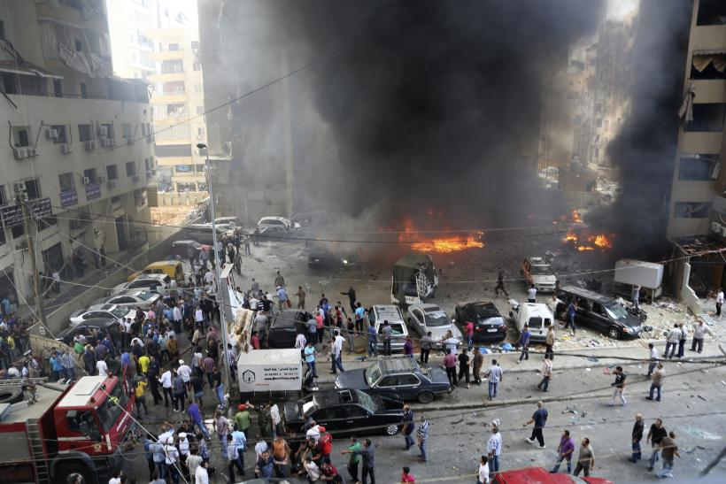 Beirut explosion July 9, 2013