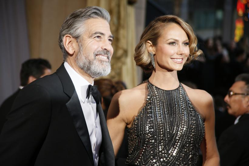 george clooney stacy keibler split