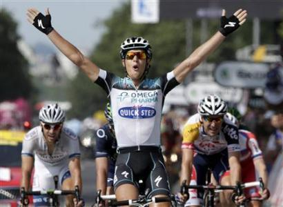 Trentin Times It Right To Snag Fourth Win For Omega Pharma