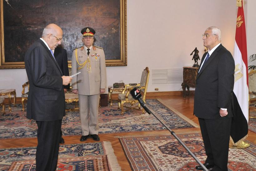 Mohamed ElBaradei Sworn In