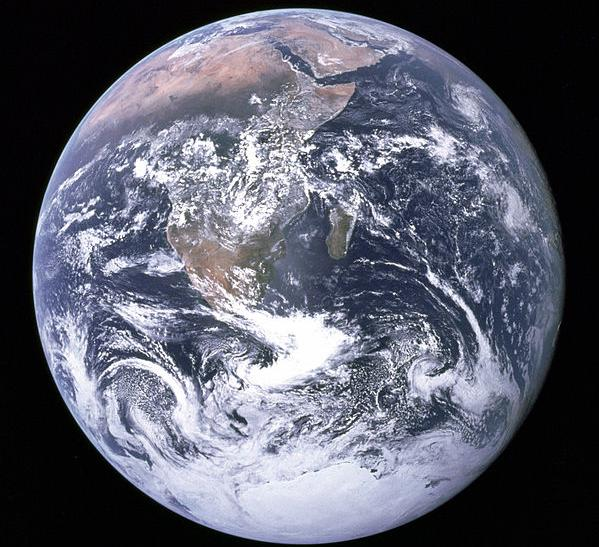 Earth from Apollo 17 NASA photo