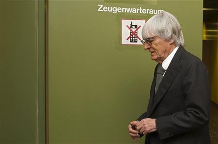 Formula One's Ecclestone Charged In German Bribe Case