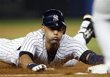 New York Yankees Derek Jeter