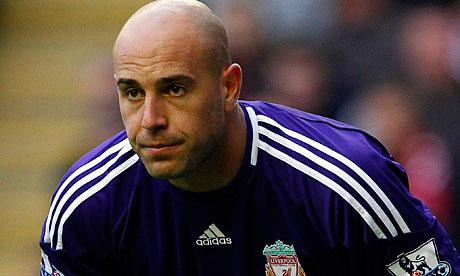 Reina Set To Leave Anfield
