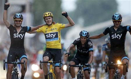 Froome Triumphant In 100th Tour de France