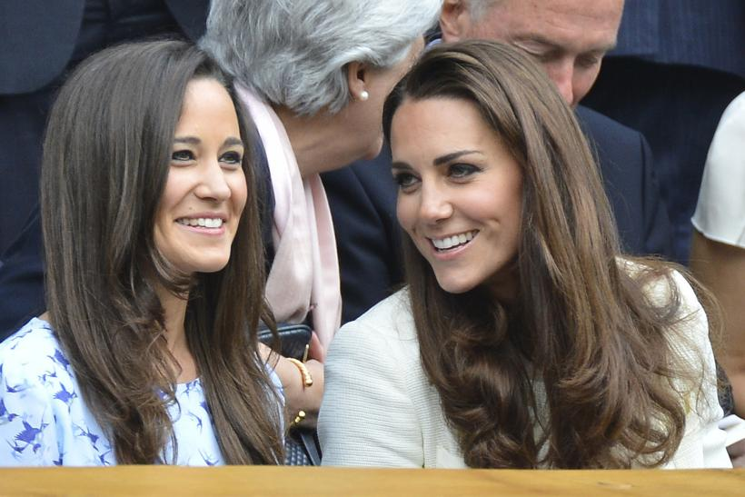 Middleton Kate Pippa July 2012