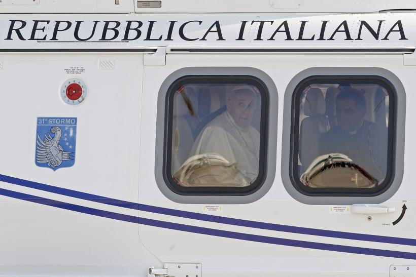 Pope Francis leaves for Brazil