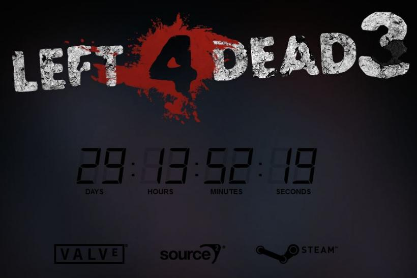 Left For Dead 3 Countdown